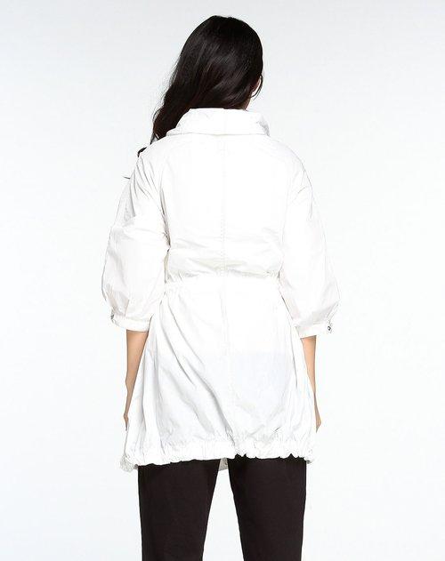 nada女装专场白色休闲中袖外套