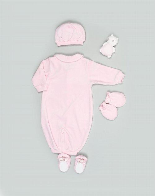 备注:配帽子,手套,鞋子,小娃娃一个 材质: 成份:57.8%棉,42.