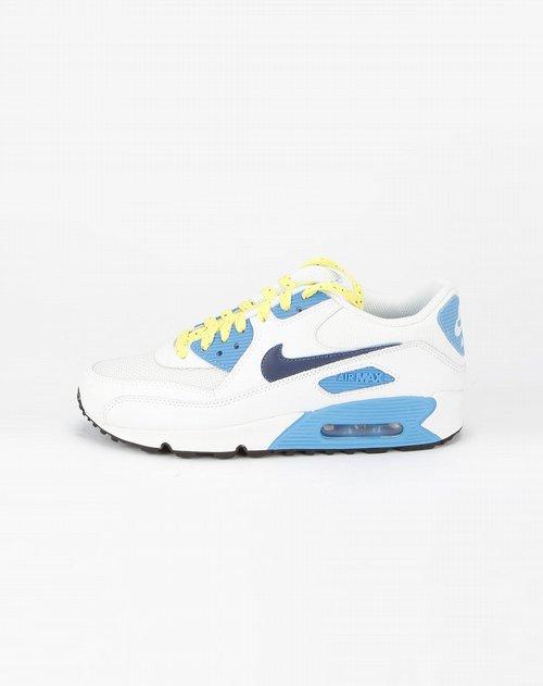 白/蓝色气垫运动鞋_耐克nike-女鞋专场特价