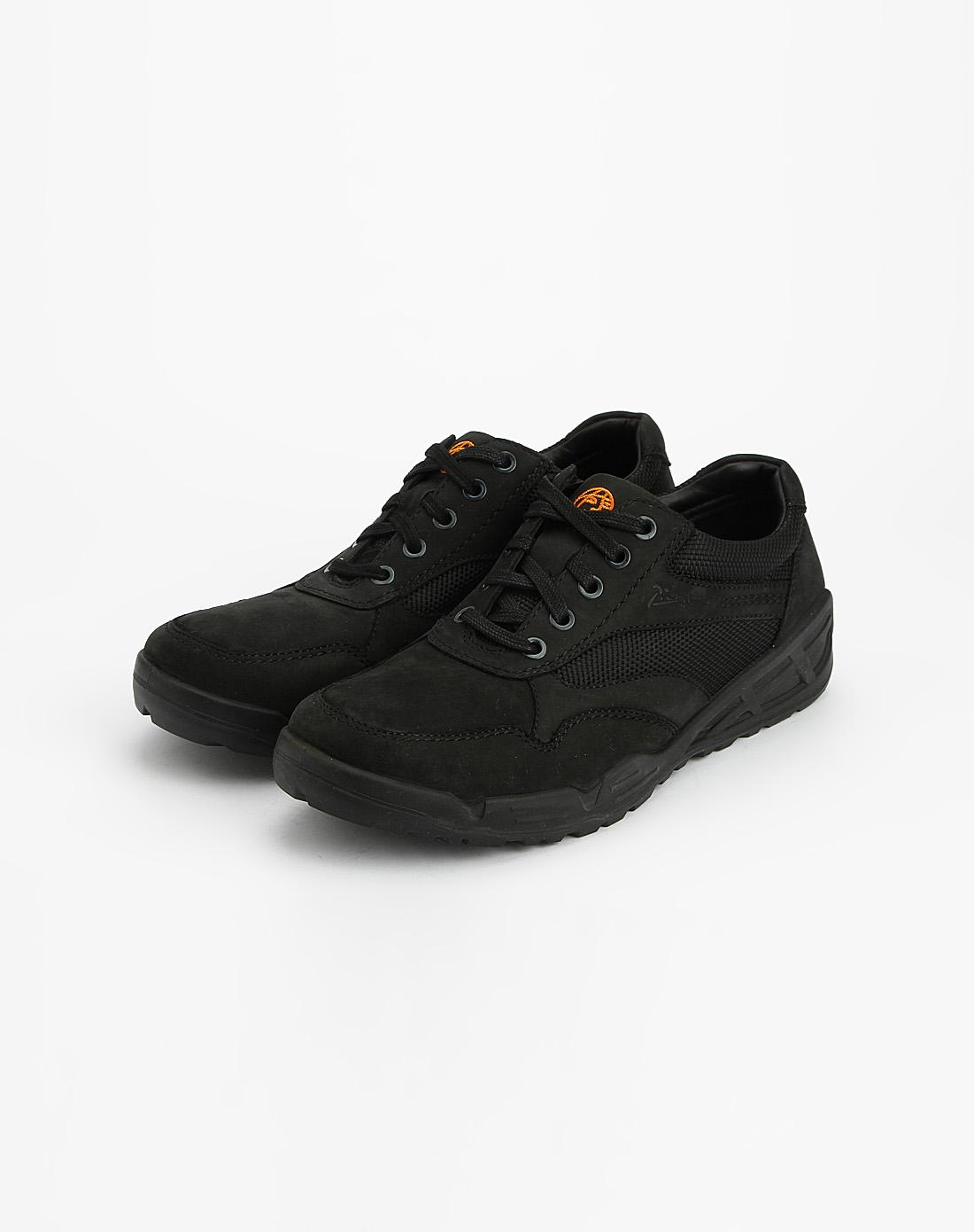 男款黑色时尚运动鞋_毕加索picasso男鞋专场