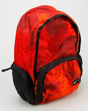 耐克nike-包包女款橙红色滑板灵感大背包