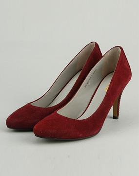 唯品会骆驼女皮鞋
