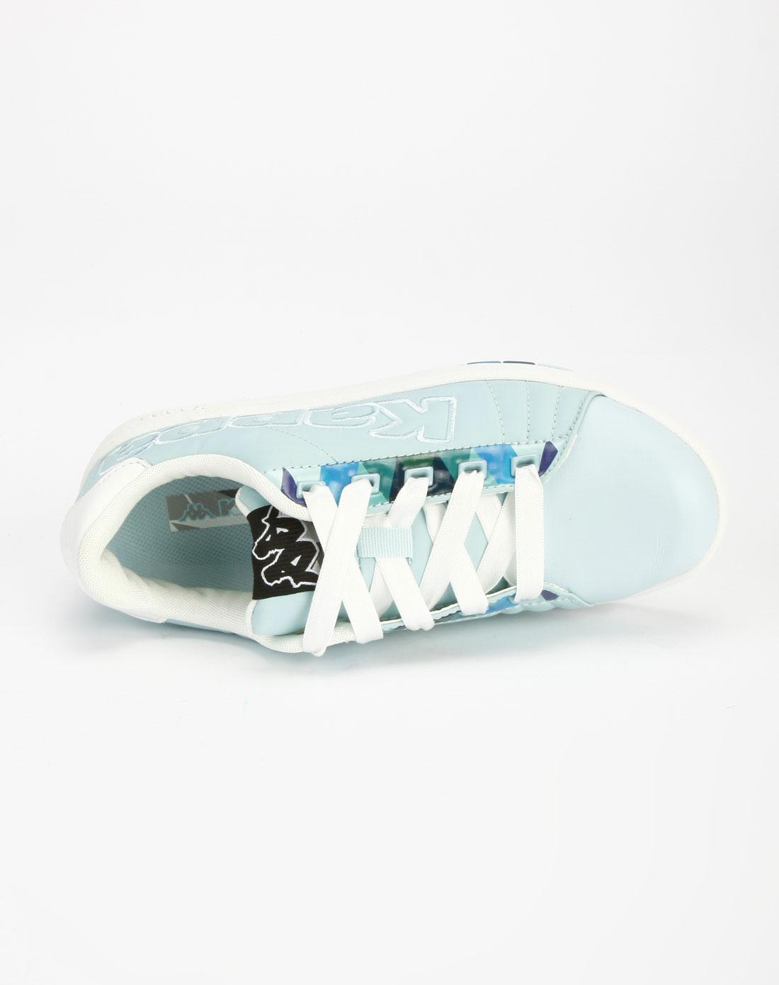 卡帕kappa蓝/白色简约休闲鞋k5103cc172-801