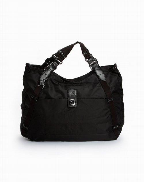 黑色休闲手提包