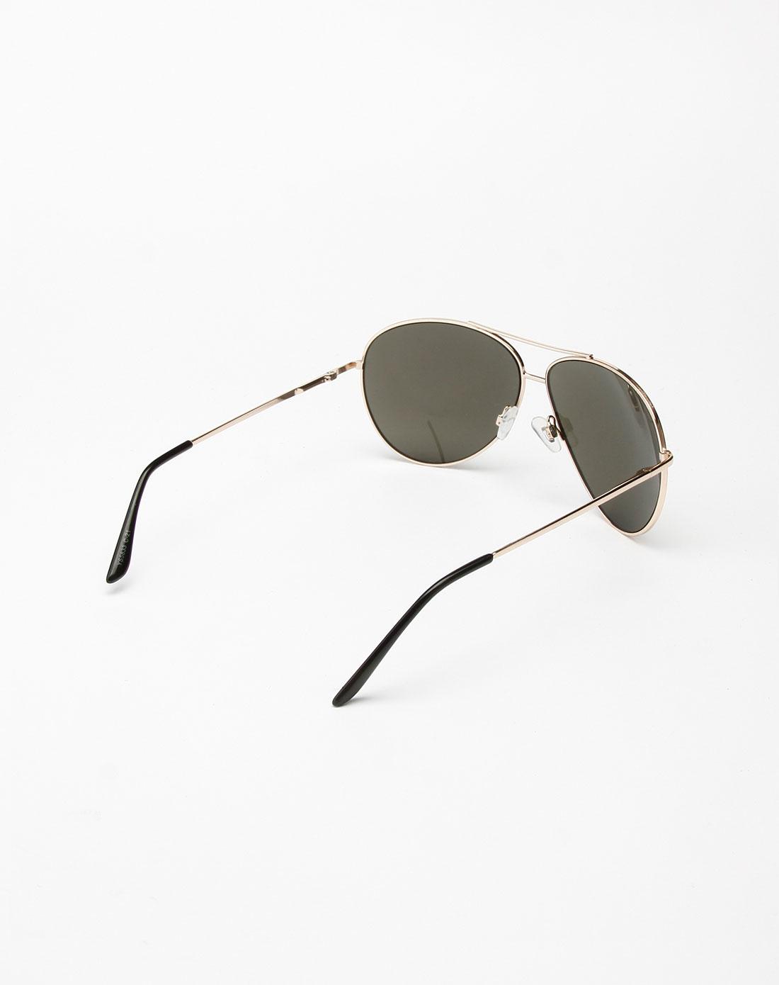 b&balos 黑色金边时尚眼镜