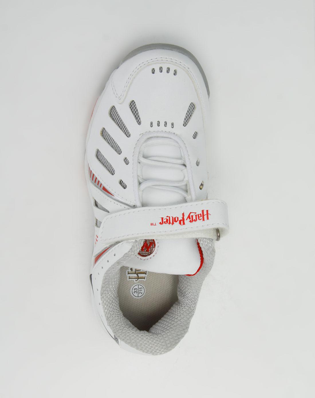 鞋儿童白色运动鞋