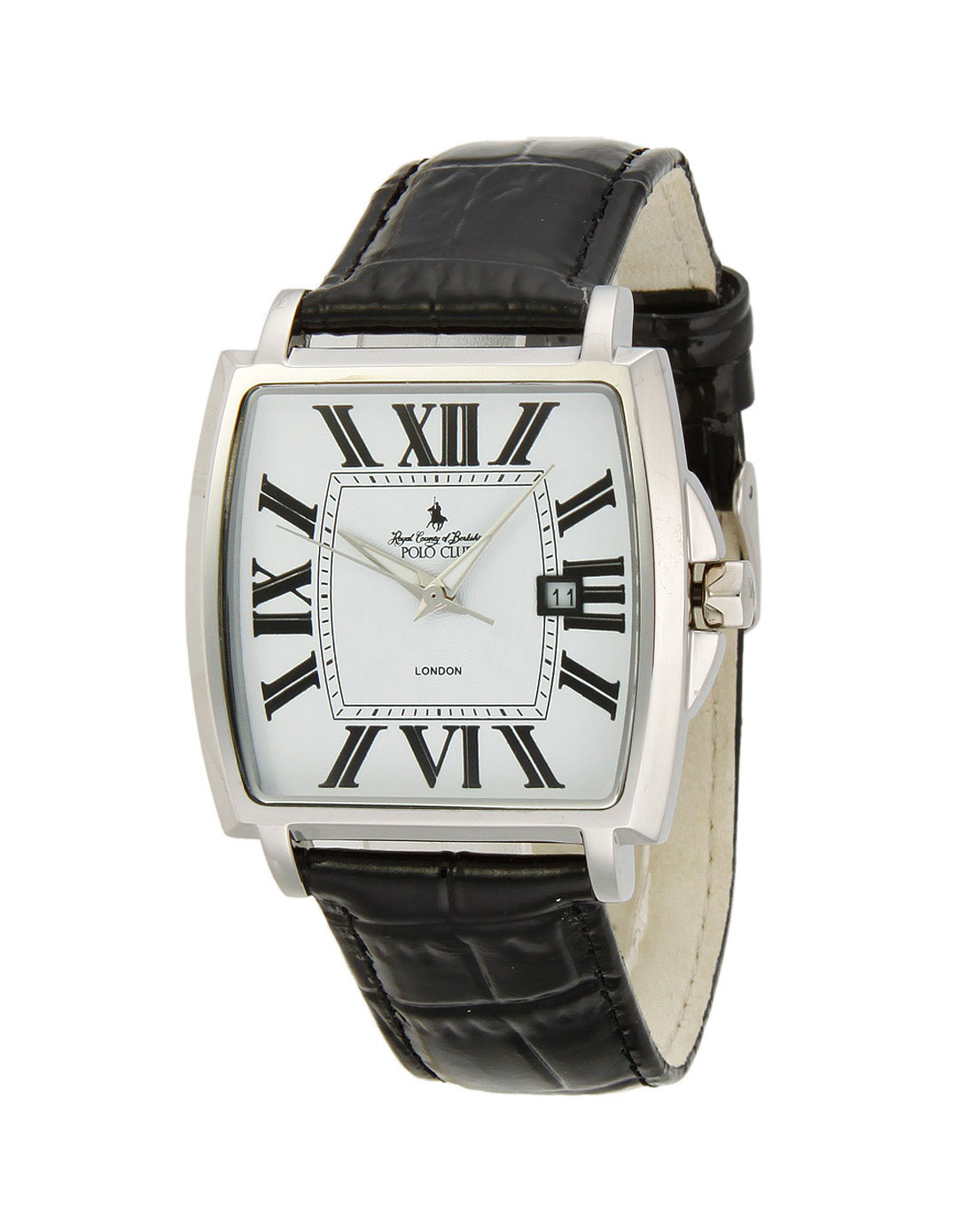 中性白色大方形手表