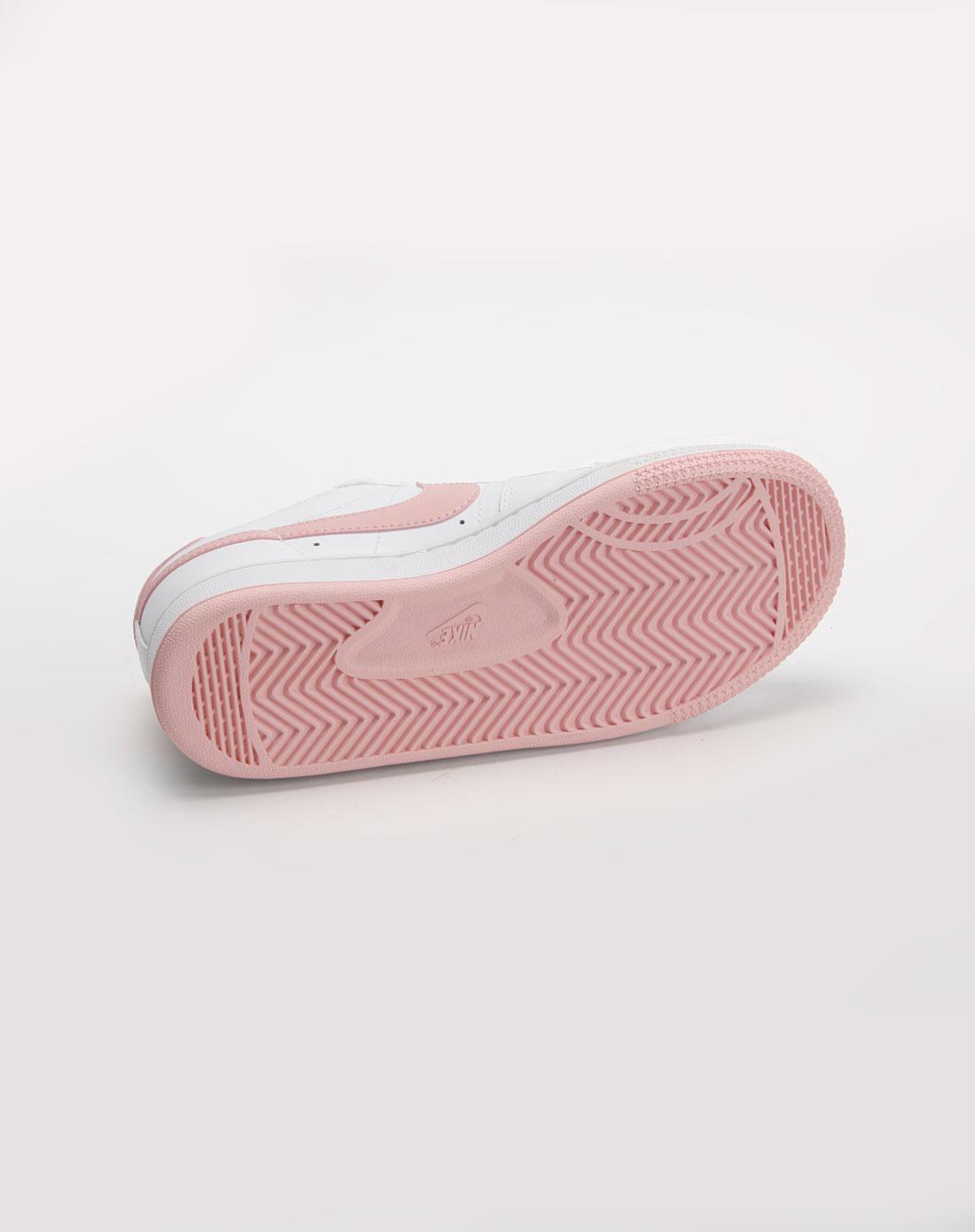 耐克nike女款白/粉色运动文化鞋