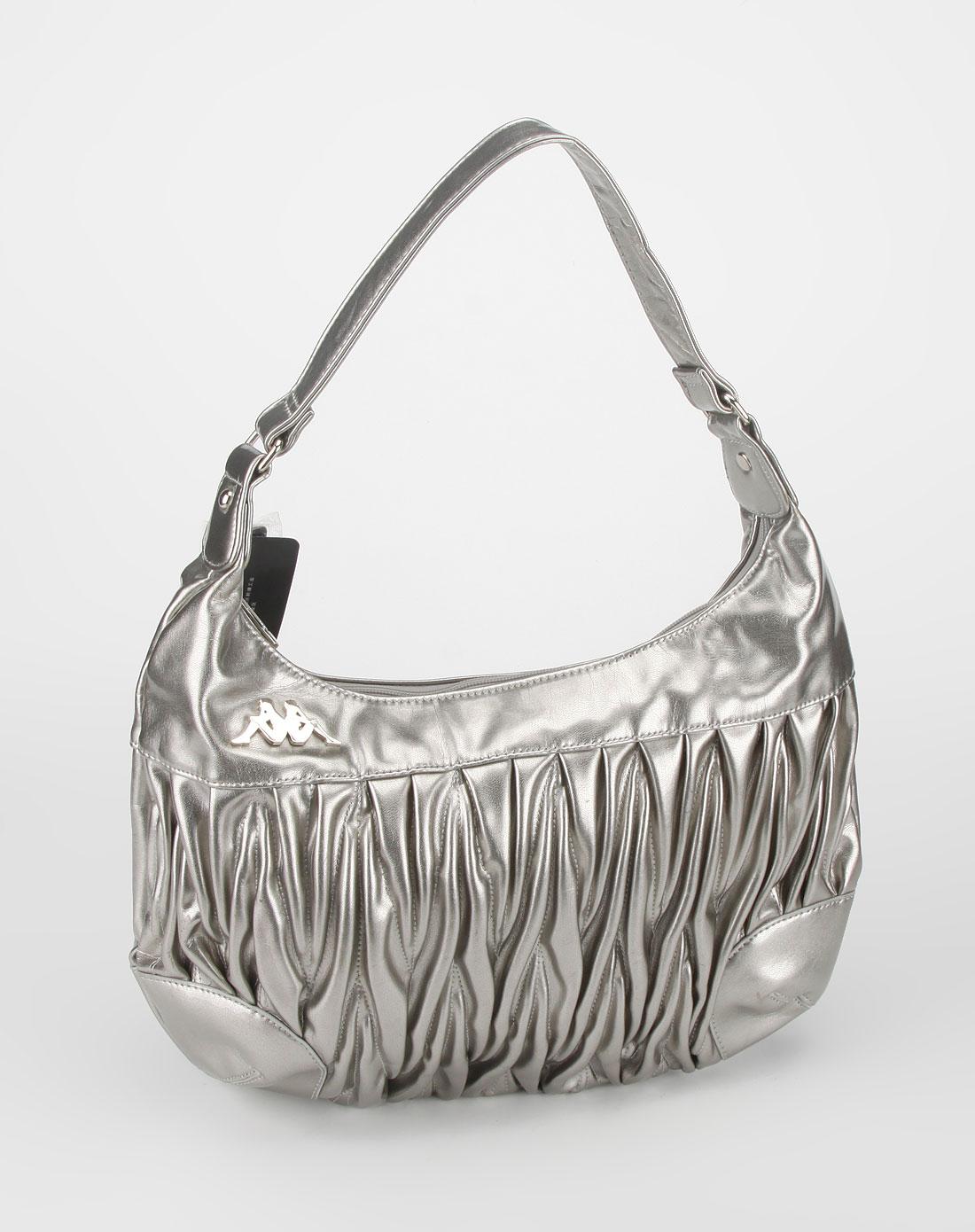 女款银色手提包