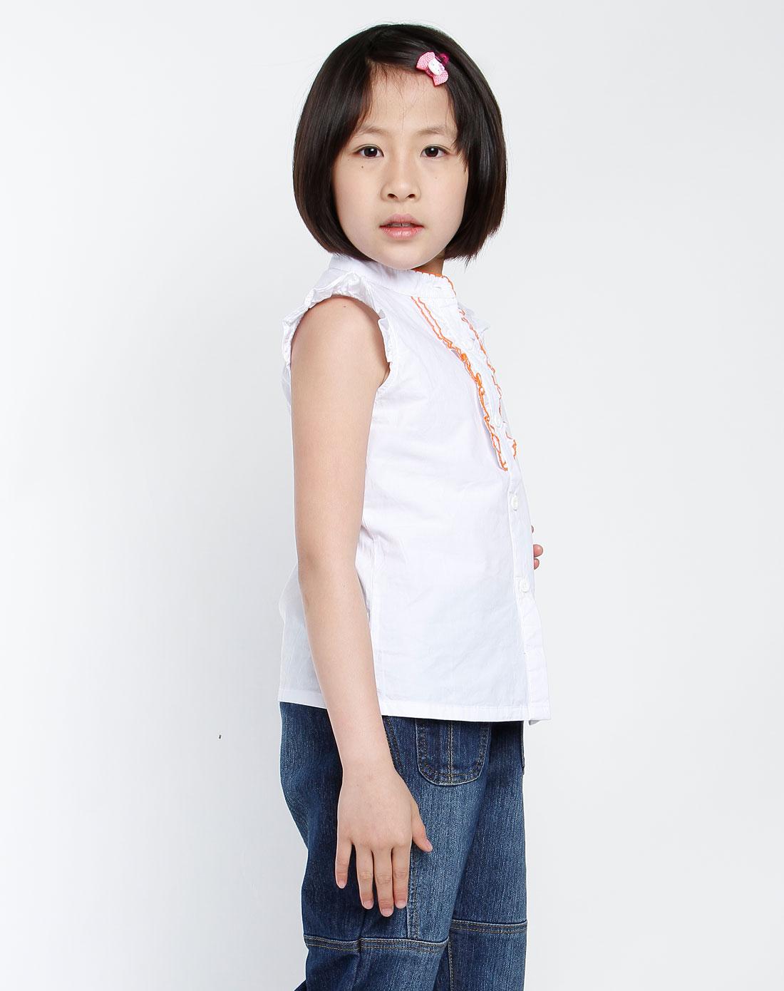 白色衬衫的女生头像
