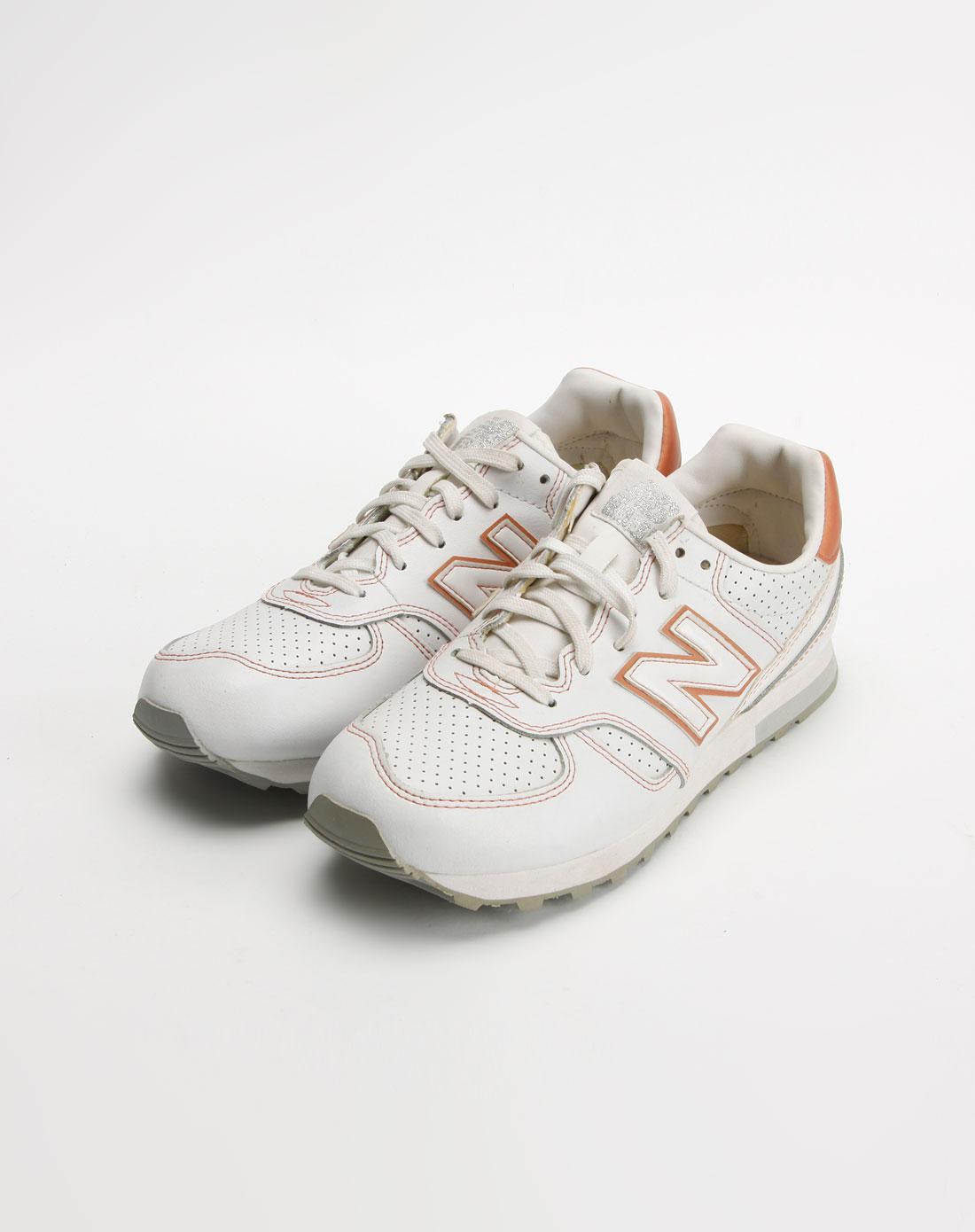新百伦new balance女款白色透气复古鞋