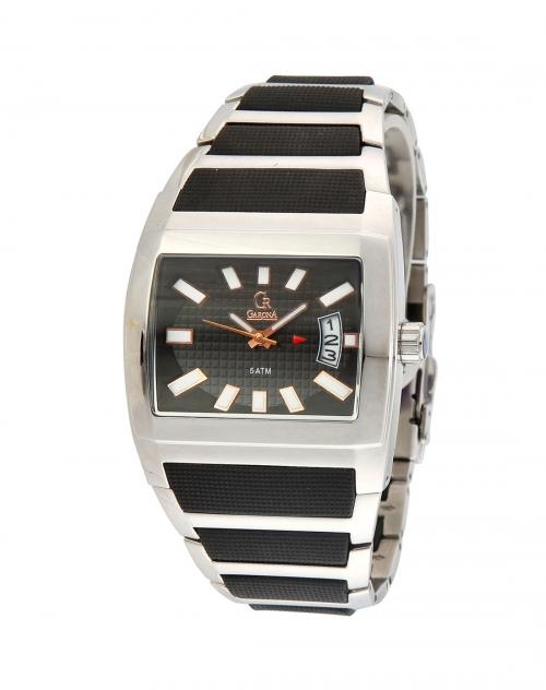 款黑 白色间条方形手表 Esprit Garona手表混合专场特价4.5折图片