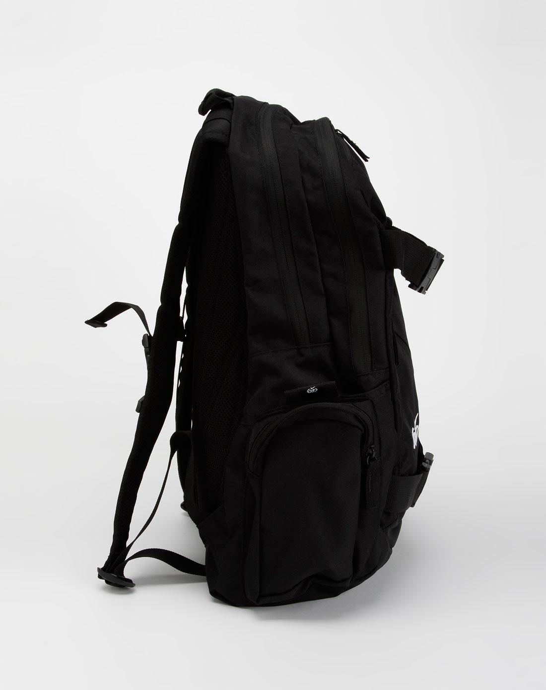 耐克nike-滑板动感黑色背包