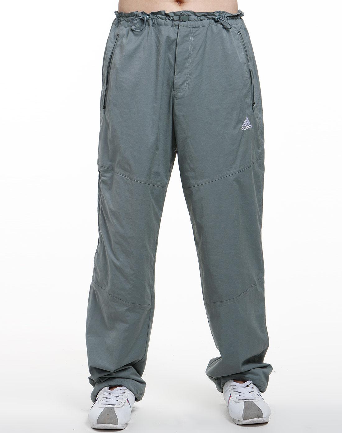 男款灰绿色休闲运动长裤094070