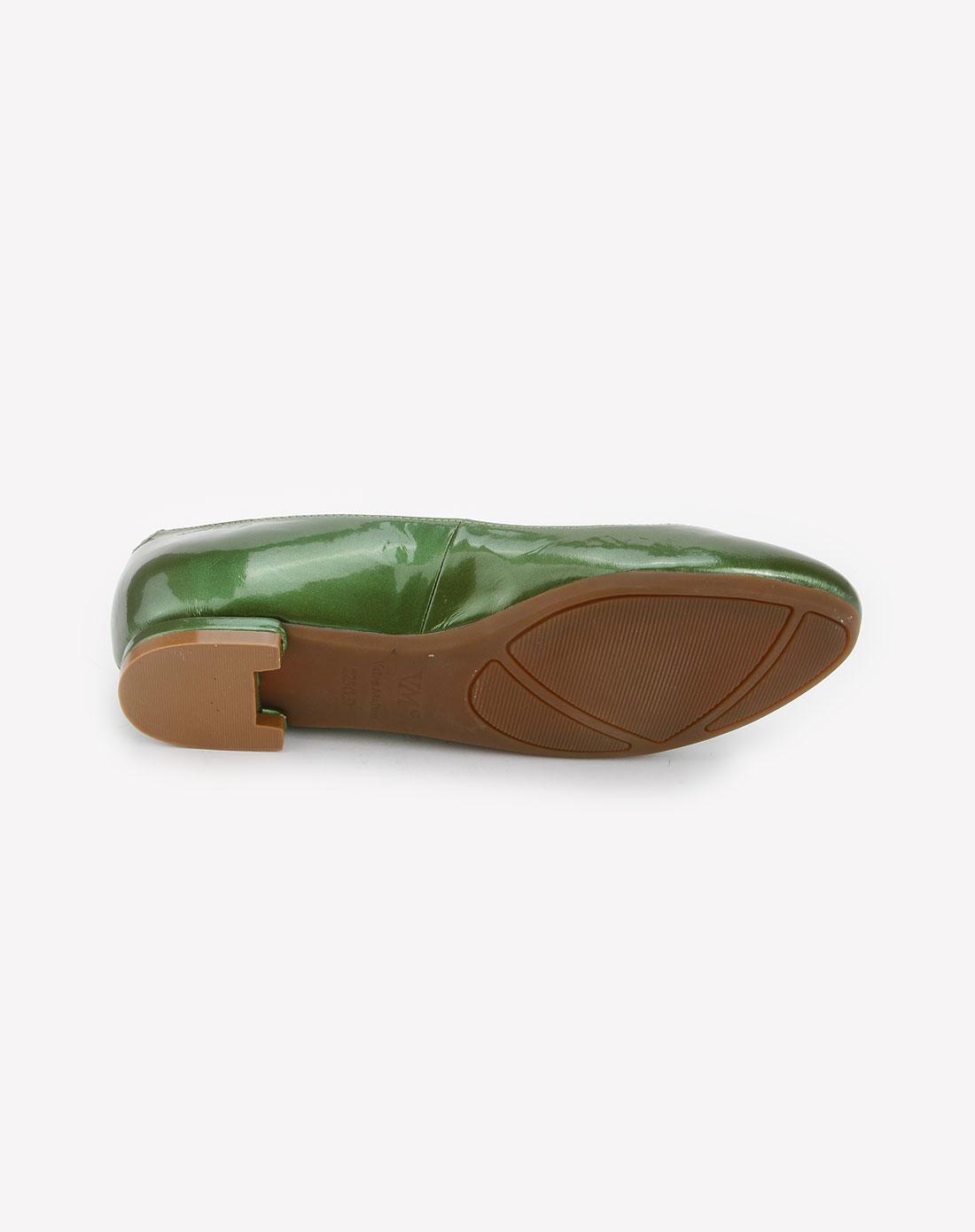vme女款绿色时尚单鞋