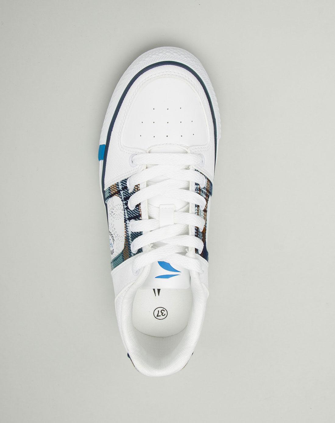 女款白色帆布鞋_361°官网特价1.7-3.3折