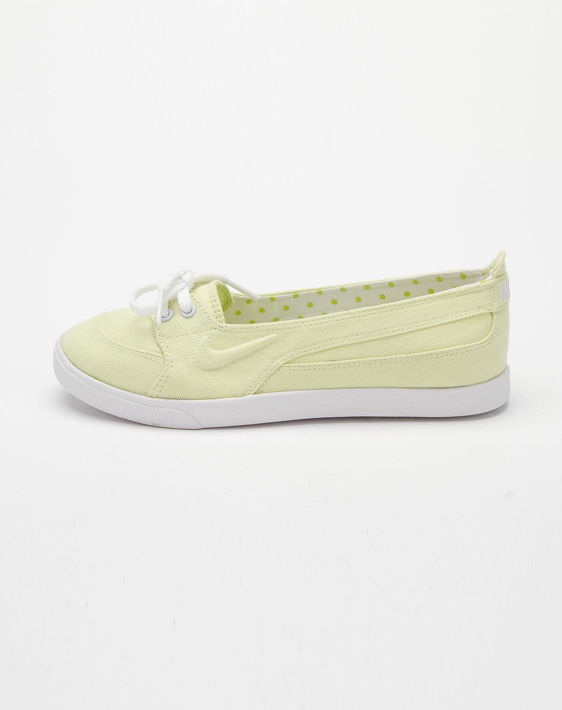 耐克nike-荧光黄色休闲个性帆布鞋443572-700