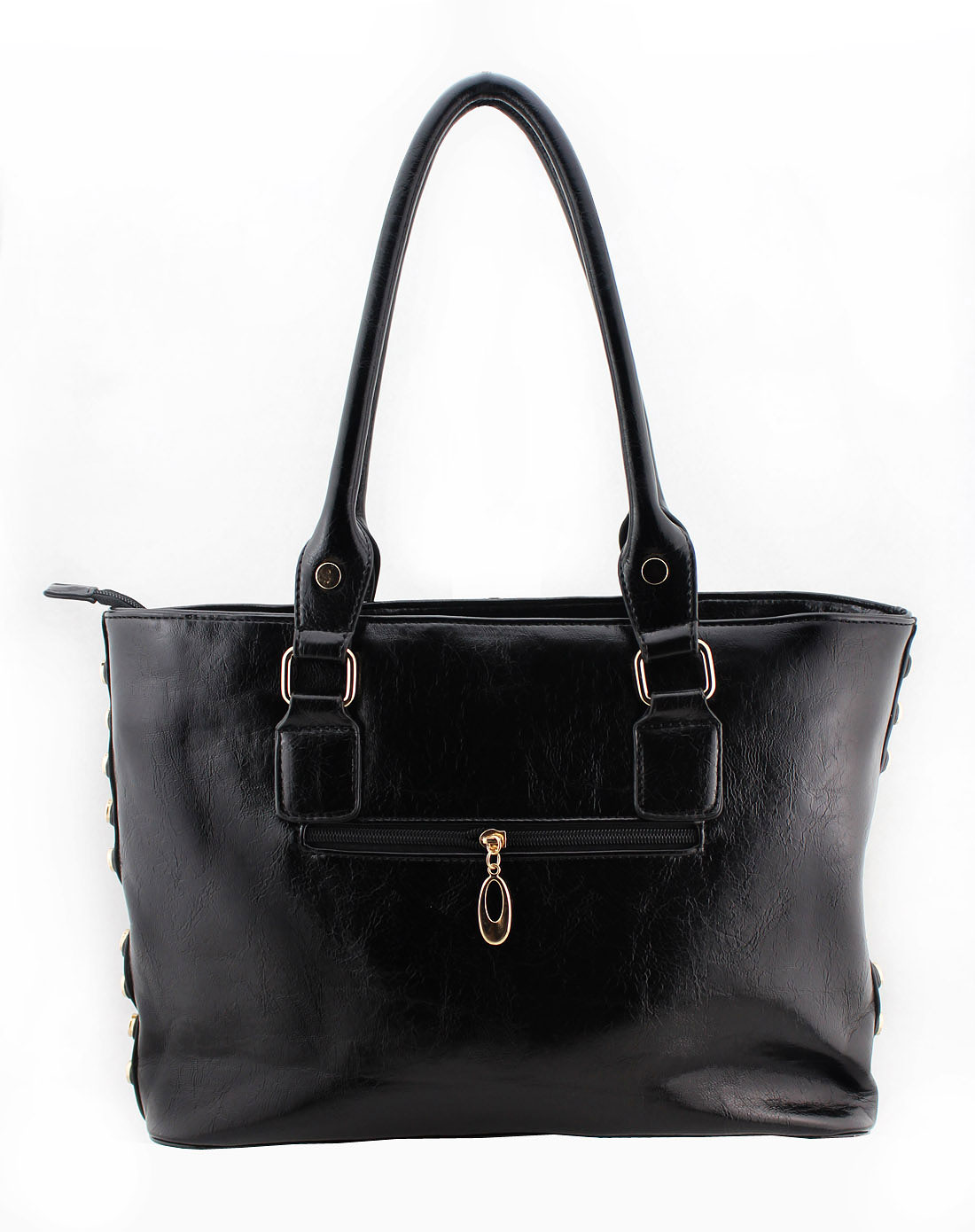 fields女式黑色新款手提包yscq