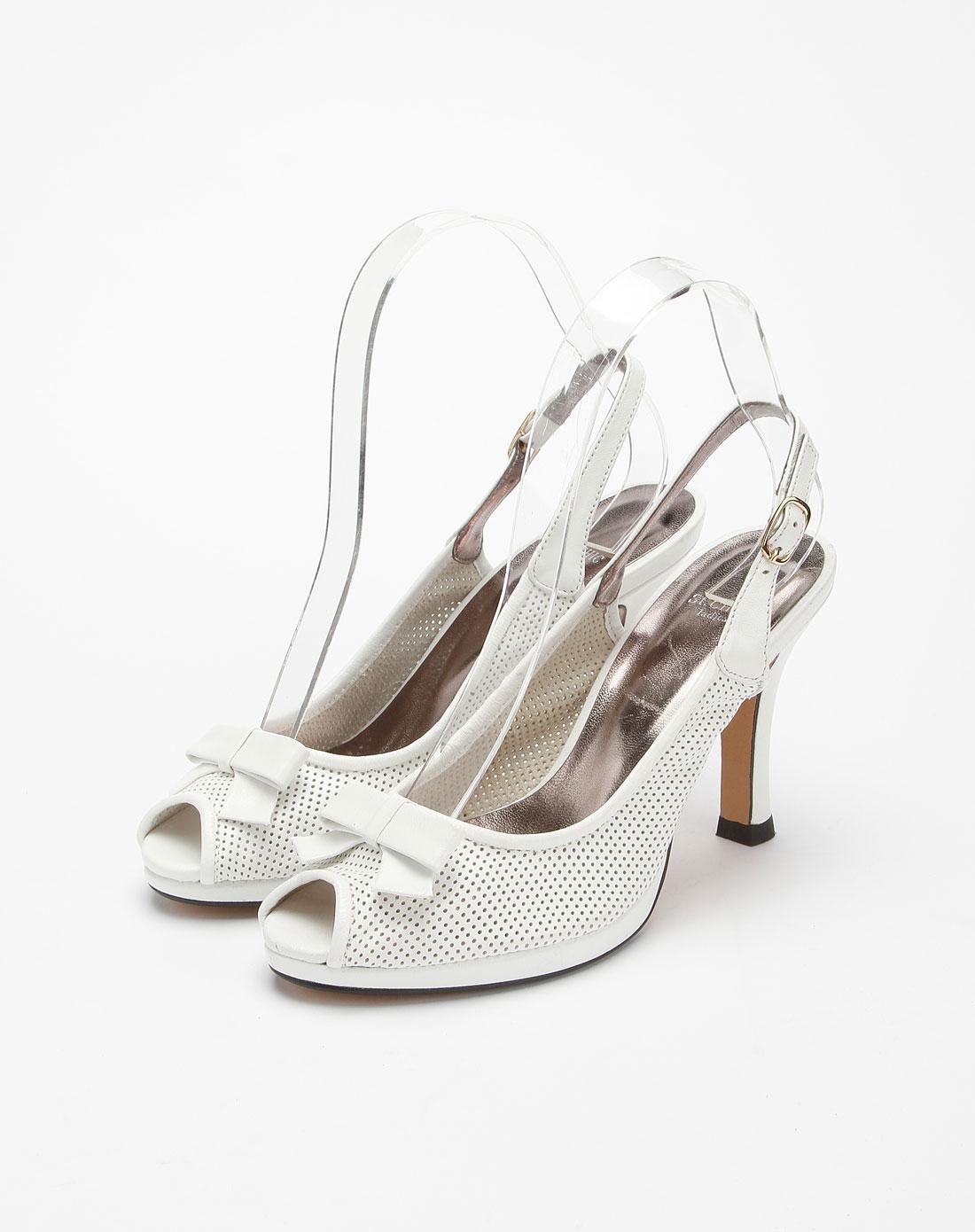 chic女款白色时尚凉鞋b20c10101m