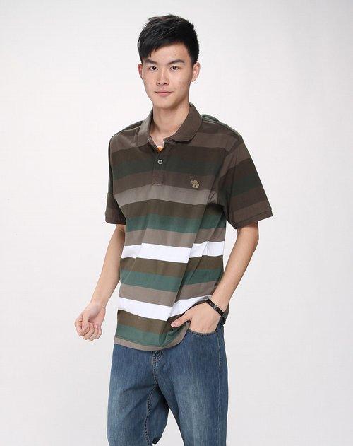 美国骆驼can·torp男装男款绿色时尚简约短袖t恤价格