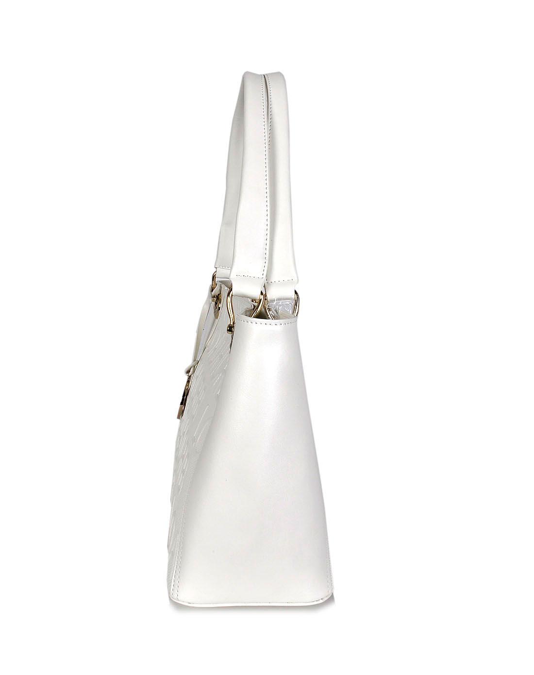 阿尔皮纳袋鼠女包白色手提包