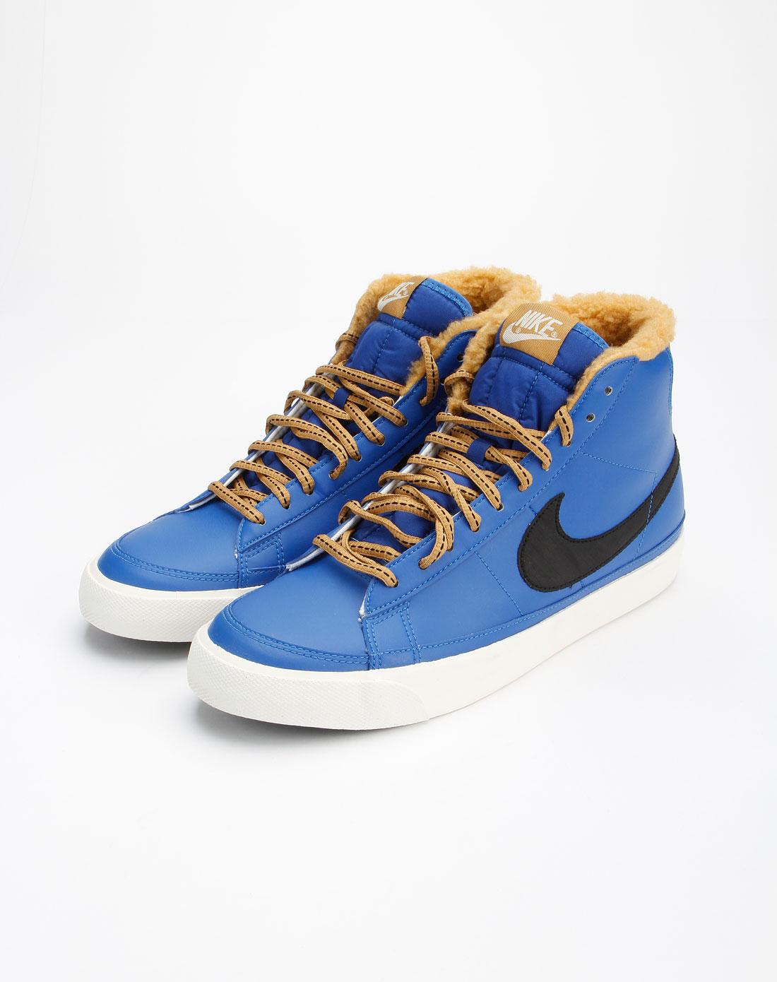 耐克nike蓝色时尚休闲绑带运动鞋371761-400