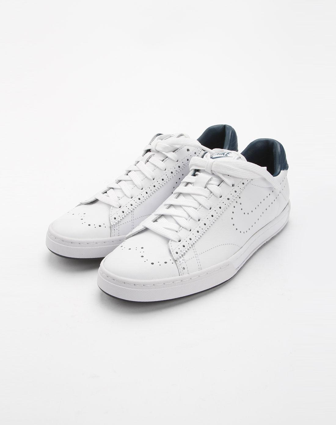 耐克nike白色绑带休闲鞋