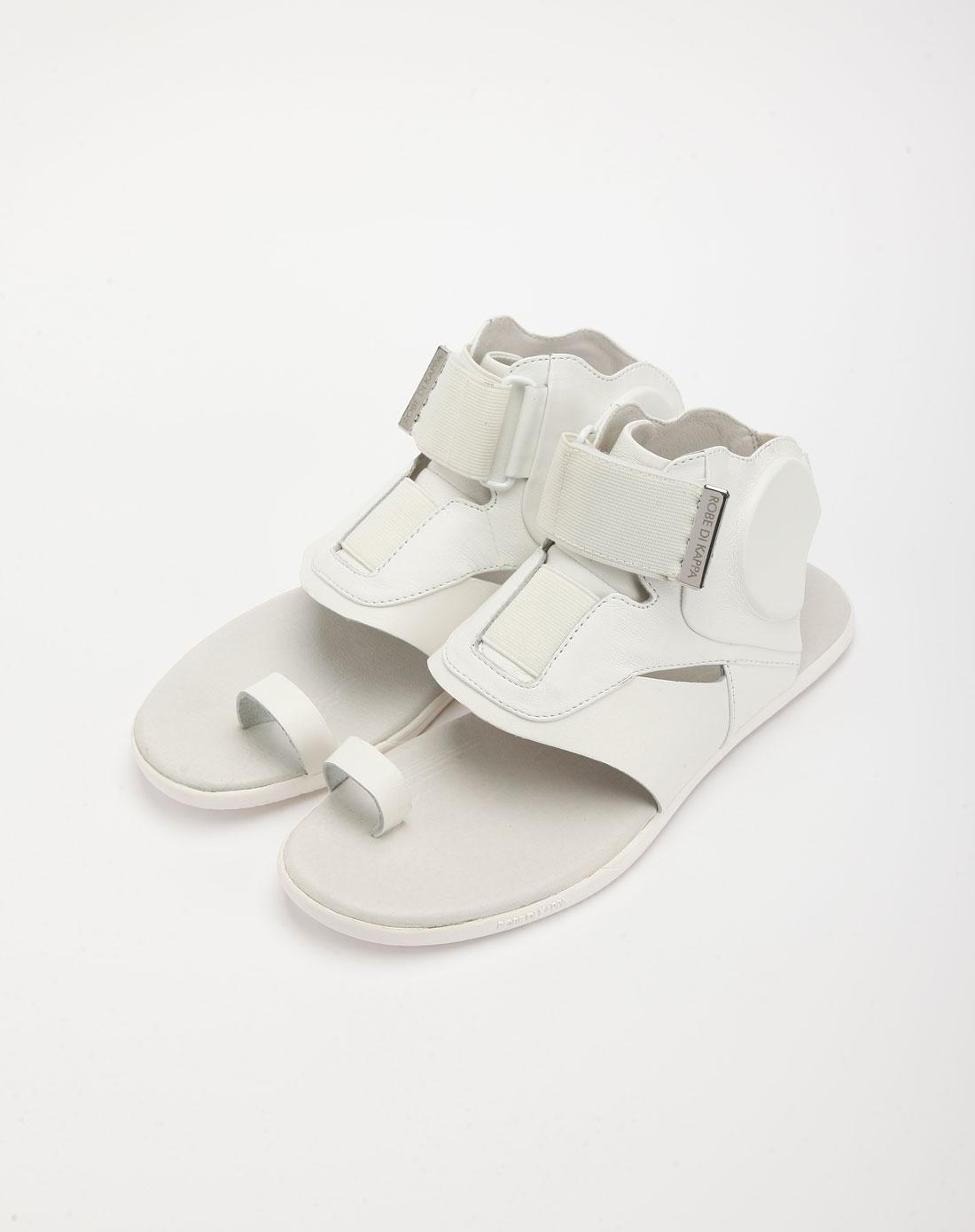 kappa男女男款白色时尚拖鞋