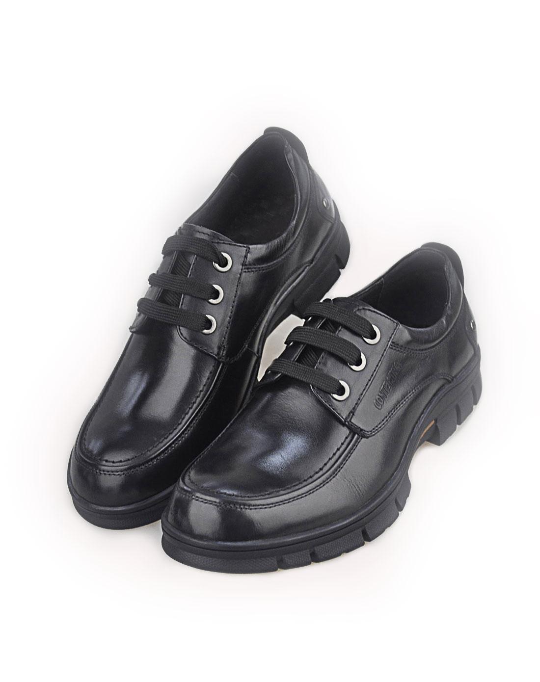 mina黑色男鞋