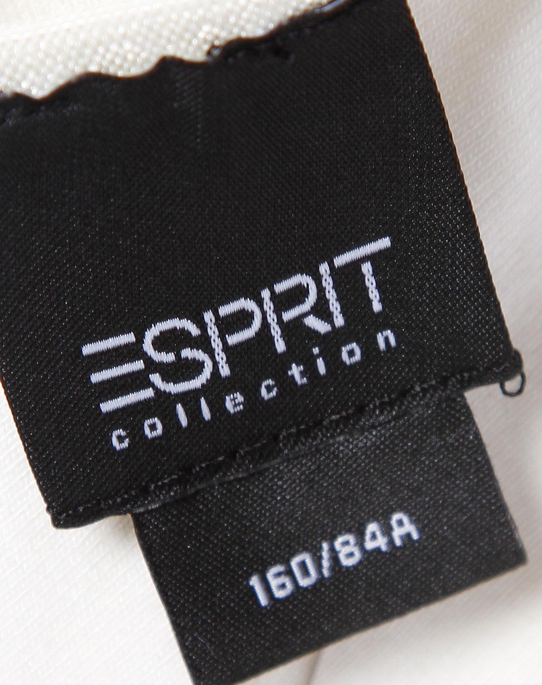 Esprit 女款米黄色简约吊带衫 埃斯普利特Esprit官网特价2.5图片