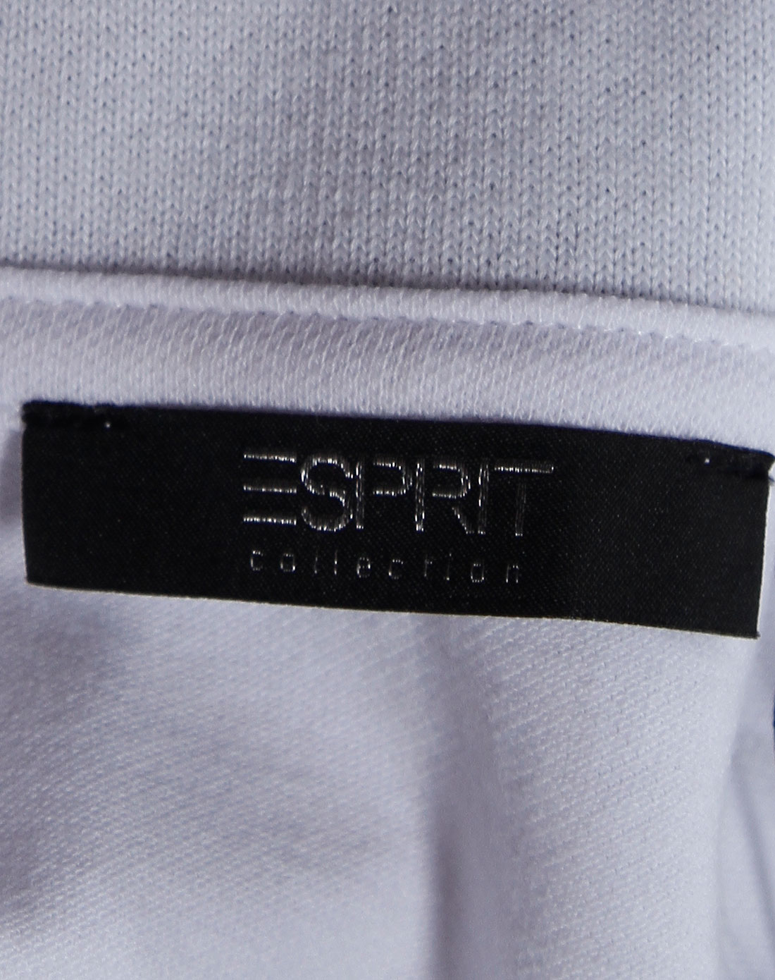 Esprit 男款纯白色短袖POLO衫 埃斯普利特Esprit官网特价2.5图片