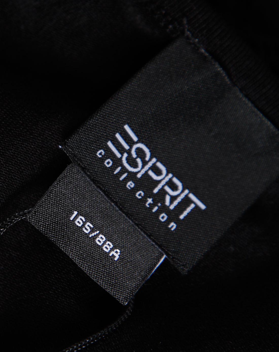 Esprit 女款黑色蕾丝边吊带衫 埃斯普利特Esprit官网特价2.5图片