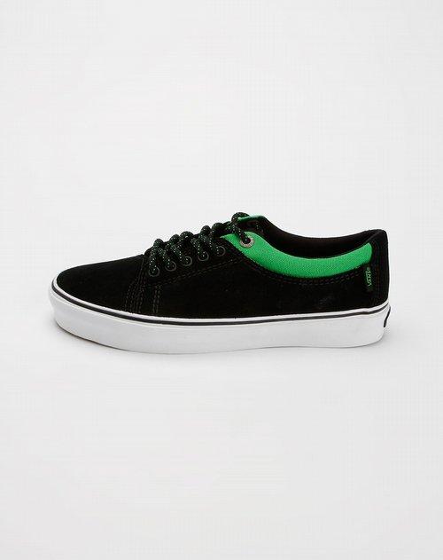 服饰箱包 鞋子 > 万斯vans男士专场男款黑绿色时尚硫化鞋   此商品