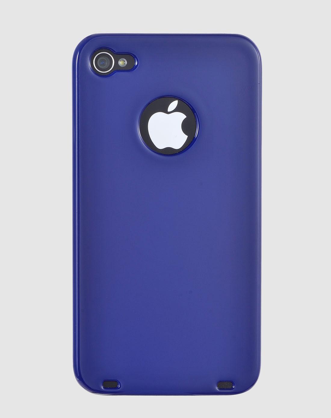 iphone4/4s 深蓝色12星座之巨蟹座手机壳图片