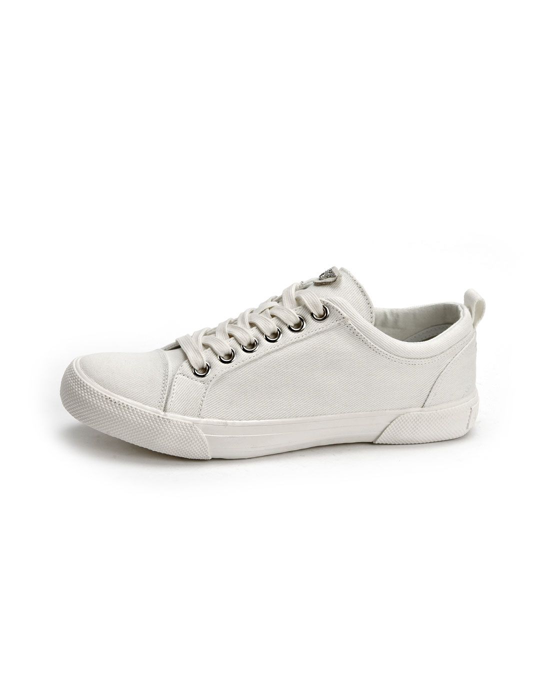 armani鞋子专场aj男款白色布面时尚绑带休闲鞋