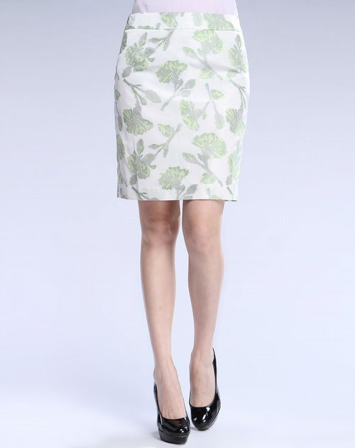 树叶灵感服装设计图