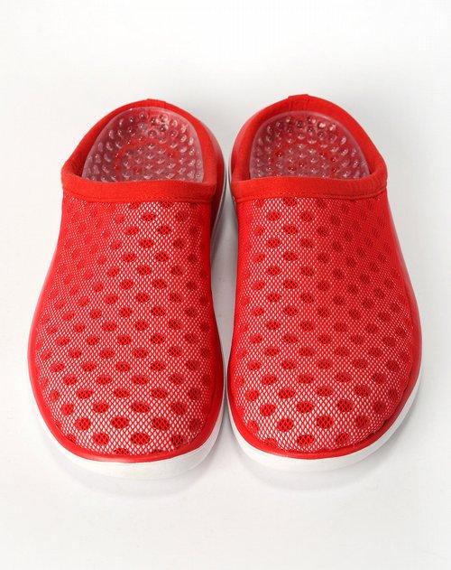 耐克nike男款红色复古鞋
