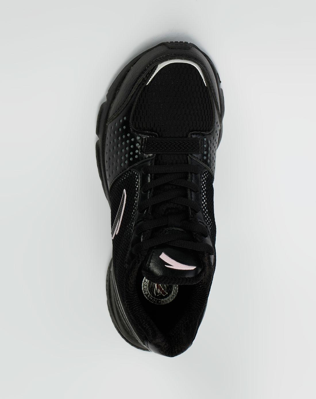 安踏anta-女款黑/淡粉色运动鞋