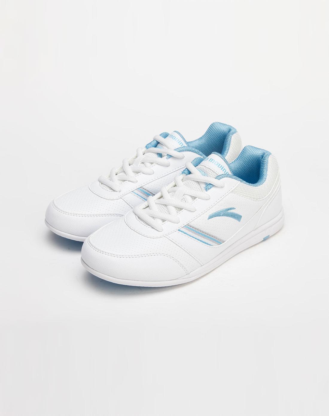 女款白色个性运动鞋_安踏anta官网特价2