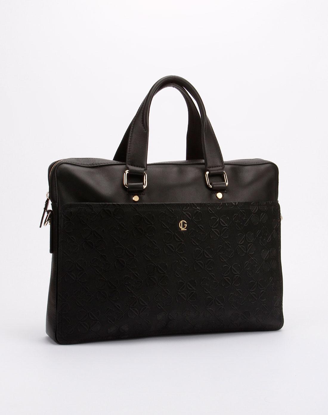 laroche箱包男女男款黑色手提包gm1820001