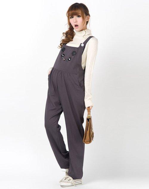 服装设计图片手绘图片背带裤