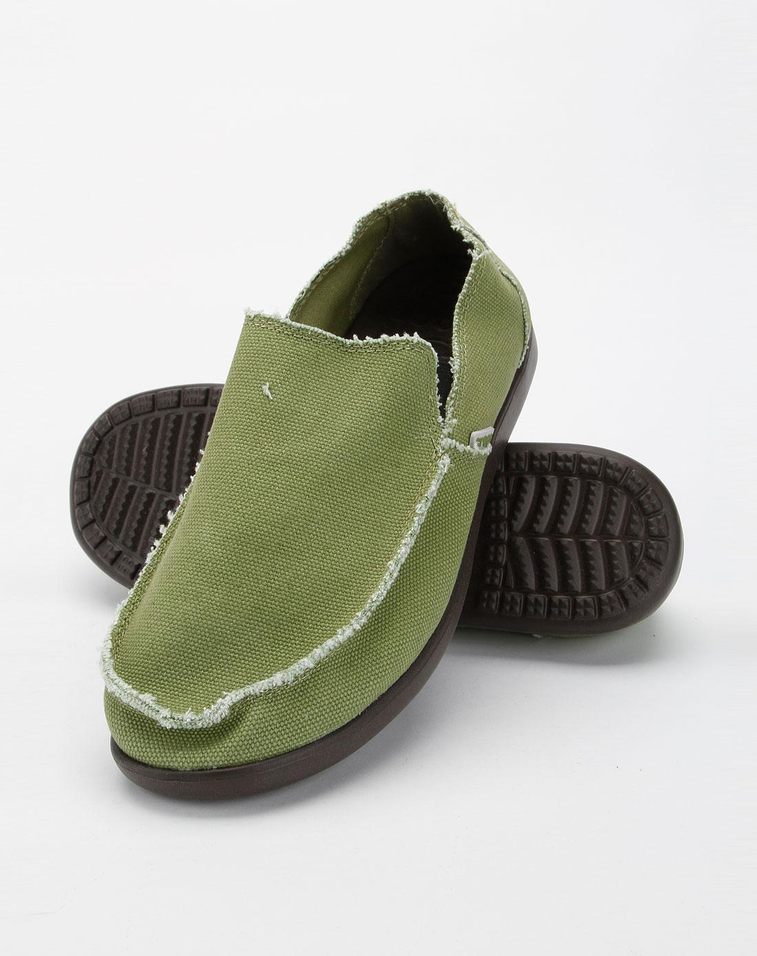 卡骆驰crocs男女男款蜥蜴绿色圣克鲁兹休闲鞋10128