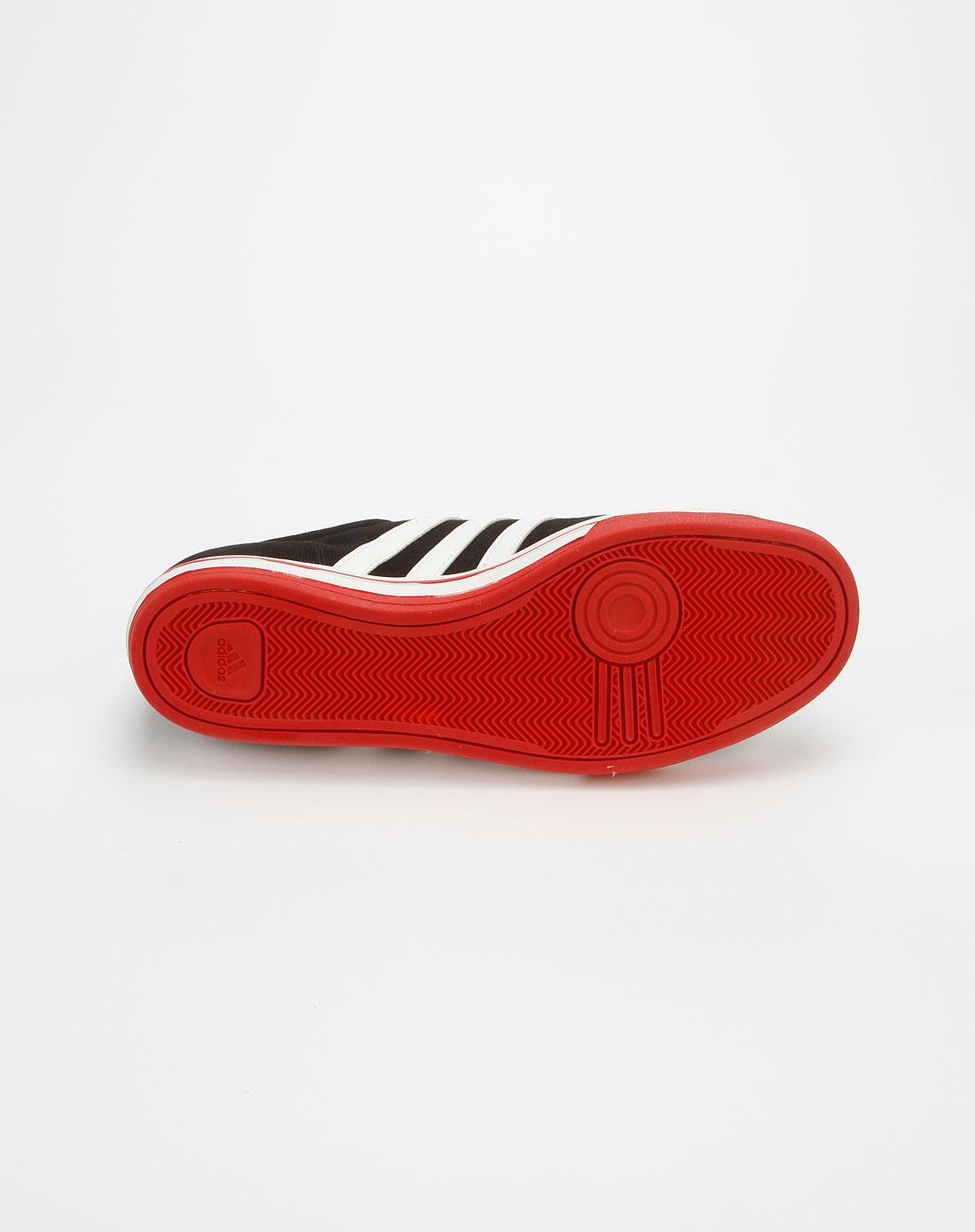 阿迪达斯adidas黑白红色型格帅气运动鞋g45513