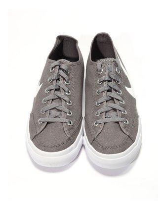 耐克nike男子灰色帆布鞋437530-040