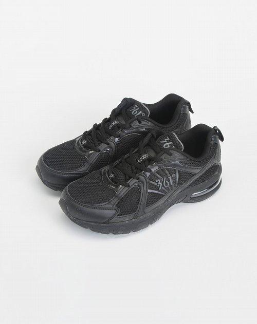 体用女款专场361° 黑色时尚运动鞋