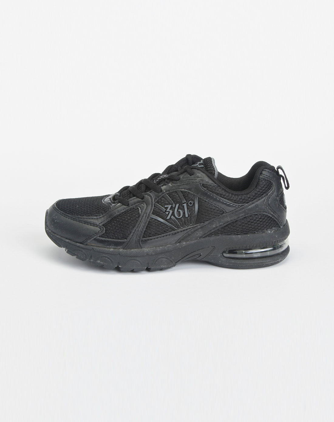 黑色时尚运动鞋_361°官网特价3-4.9折