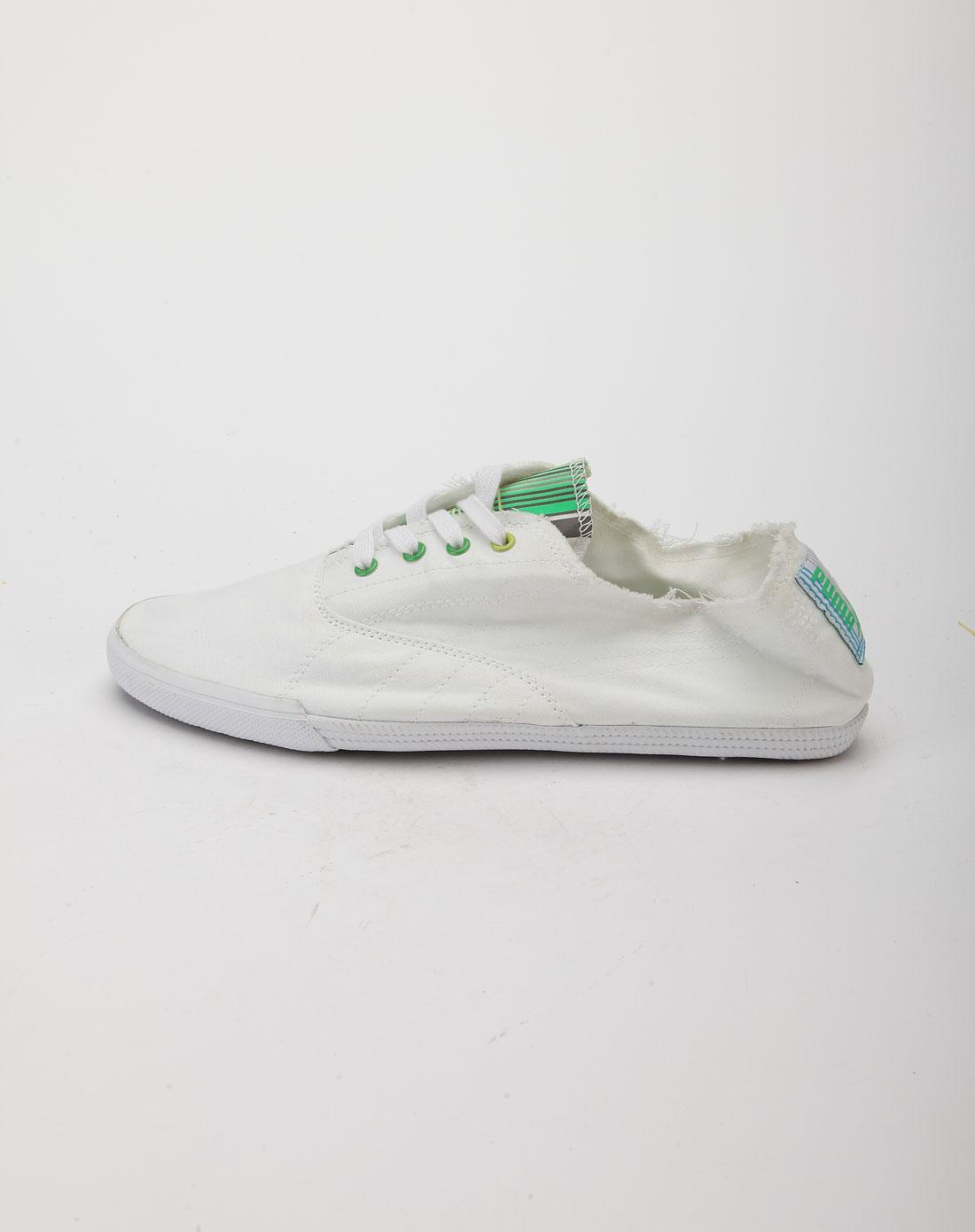 彪马puma白色休闲鞋35200401