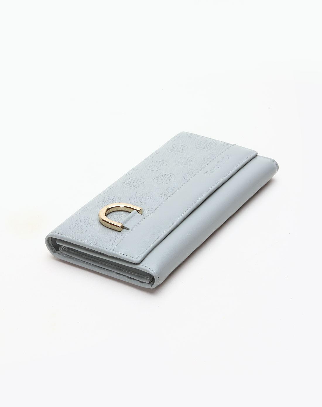 浅灰色印图钱包_维多利保罗女士专场特价2.6-3