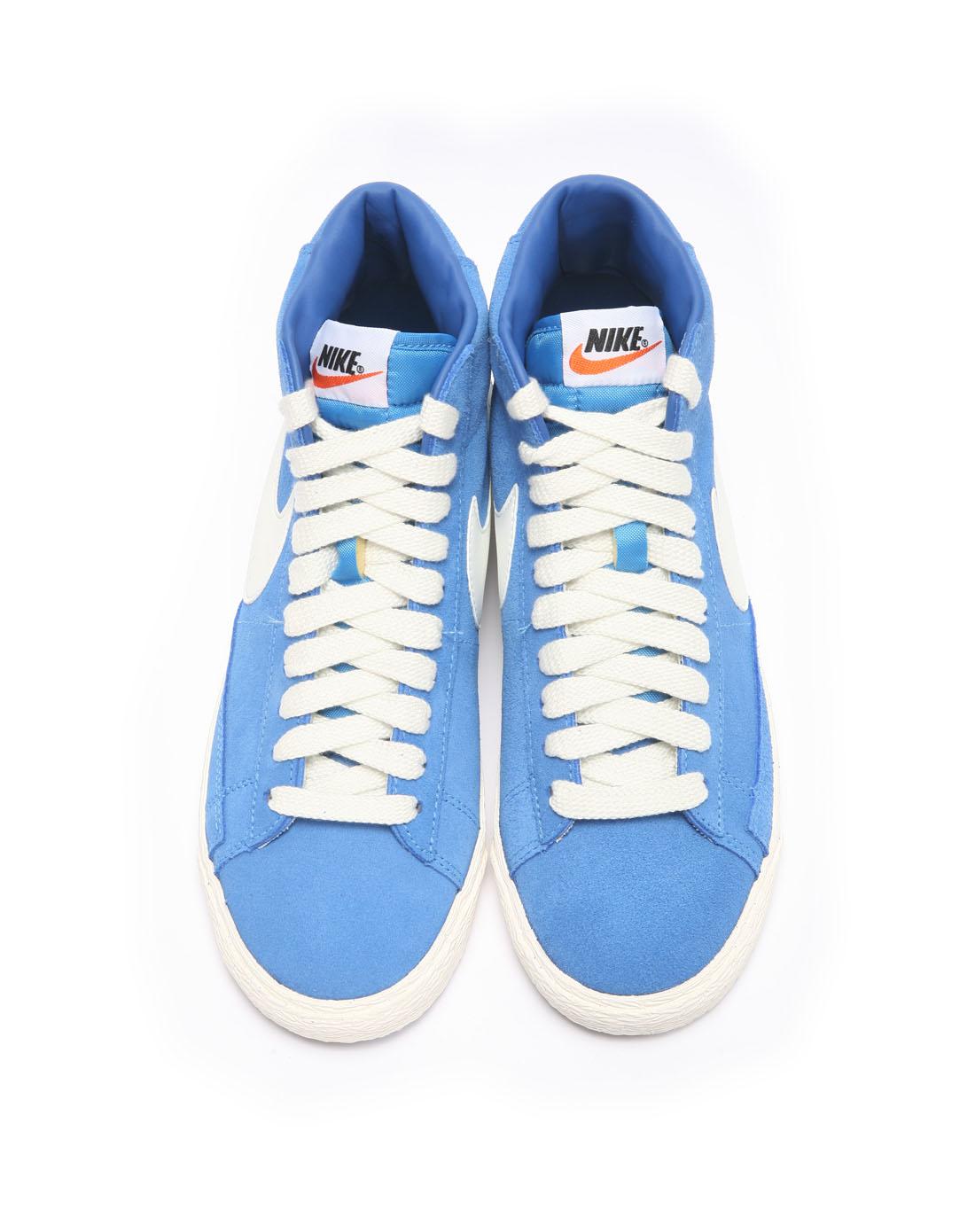 耐克nike男子蓝色复古鞋511427-472