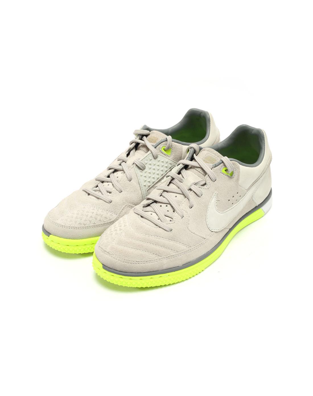 耐克nike男子灰色足球鞋442125-007